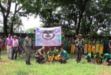 Army's Mega Plantation Drive in Chirang