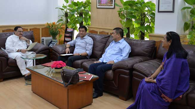 JP Nadda Concerned about 500 bed hospital project at