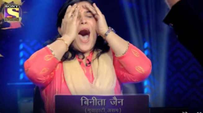 KBC 10: Binita Jain of Guwahati wins one crore | Arunachal24 in
