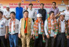 Itanagar: Pema Khandu launches membership drive for BJP party
