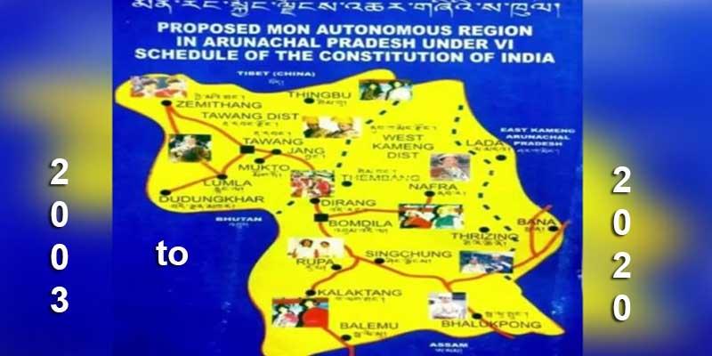 Arunachal Pradesh: Demand for Mon Autonomous Region, from ...