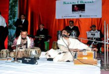 "Photo of BSF organised ""Shaam-E-Ghazal"" at Shillong"
